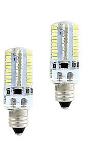 4W E14 LED-kornpærer 80 SMD 3014 360 lm Varm hvit Hvit 3000-3500  6000-6500 K Mulighet for demping 110 220 V 2pcs