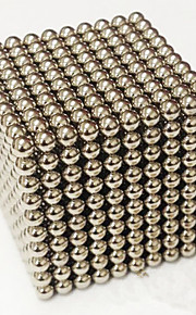 1000 pcs 3mm Magnet Toy Magnetic Balls Building Blocks Super Strong Rare-Earth Magnets Neodymium Magnet Stress and Anxiety Relief Office Desk Toys DIY Adults' / Children's Boys' Girls' Toy Gift
