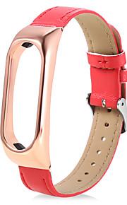 nova faixa de relógio de pulso inteligente para xiaomi miband 2 (redgold)