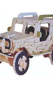 Display Model Byggeklodser 3D-puslespil Legetøjsbiler Militærkøretøjer Legetøj Bil Køretøjer Militær Stress og angst relief Nyt Design