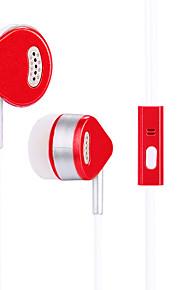 JTX S809 I øret Ledning Hovedtelefoner Dynamisk Mobiltelefon øretelefon Støj-isolering Med Mikrofon Headset