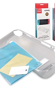 Сумки, чехлы и накладки Защитные пленки для Nintendo Переключатель Высокое разрешение Антибликовая Задняя панель Защита от царапин
