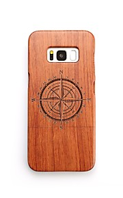 For Case Cover Shockproof Pattern Back Cover Case Geometric Pattern Hard Wooden for Samsung Galaxy S8 Plus S8 S7 edge S7 S6 edge plus S6