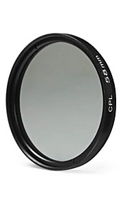 58mm cpl filterlins til nikon canon Sony DSLR kamera - sort