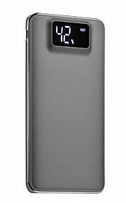 10000mAh power bank external battery 5 Battery Charger Flashlight Multi-Output QC 2.0 Super Slim LCD