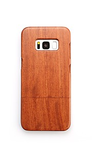 For Case Cover Shockproof Back Cover Case Solid Color Hard Wooden for Samsung Galaxy S8 Plus S8 S7 edge S7 S6 edge plus S6 edge S6 S6