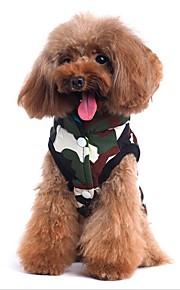 Katze Hund Mäntel Weste Hundekleidung Lässig/Alltäglich Beidseitig Chrismas Halloween Buchstabe & Nummer Tarnfarbe Kostüm Für Haustiere