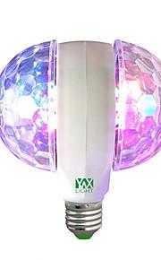 1 stk 6W E27 LED-globepærer 6 leds Høyeffekts-LED Dekorativ RGB 400lm 2800-12000