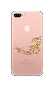 케이스 제품 Apple iPhone X iPhone 8 iPhone 8 Plus 투명 패턴 뒷면 커버 크리스마스 소프트 TPU 용 iPhone X iPhone 8 Plus iPhone 8 아이폰 7 플러스 아이폰 (7) iPhone 6s Plus