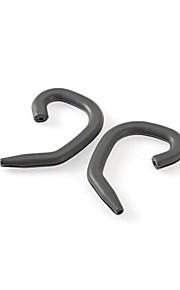 1 זוג אוניברסלי ספורט אוזן לולאה אוזניות קליפ
