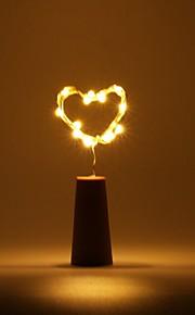 brelong 0,5m 5led vinflaske kobber streng lys til jul bryllup fest dekorasjoner
