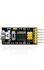 Keyestudio FTDI(Original Chips) Basic Program Downloader USB to TTL FT232USB Cable for Arduino
