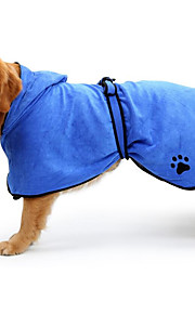 Katze Hund Reiniger & Pflegemittel Hundekleidung Mikrofaser Frühjahr, Herbst, Winter, Sommer Wandelbare Kleider warm halten Solide Braun