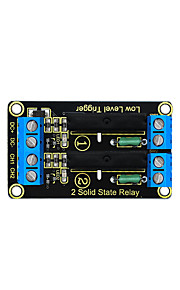 Keyestudio Two Channel Solid State Relay Module for Arduino