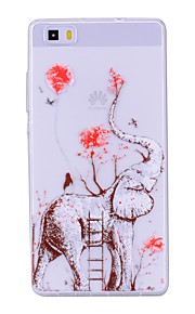 Case For Huawei P8 Lite (2017) P10 Lite Transparent Pattern Back Cover Elephant Soft TPU for Huawei P10 Lite Huawei P9 Lite Huawei P8
