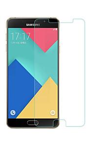 화면 보호기 용 Samsung Galaxy A5(2016) 안정된 유리 1개 화면 보호 필름 고해상도 (HD) 9H강화 2.5D커브 엣지