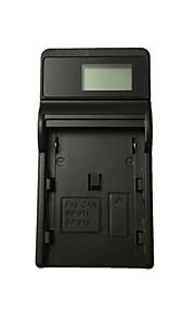 Ismartdigi BP911 LCD USB Camera Battery Charger for Canon BP911 914 915 930 945 950G 970G 924 927 914 XL1S XV2 E1 E2 E30 E65AS Battery - Black