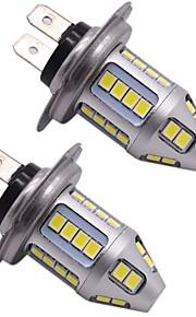 Premium Lightness 150W H7 Samsung LED Headlight Replacing Bulb H7 High Beam Headlight Light Bulb White Color(2PCS)
