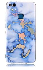 Case For Huawei P8 Lite (2017) P10 Lite Plating IMD Back Cover Marble Soft TPU for Huawei P10 Lite Huawei P9 Lite Huawei P8 Lite Huawei