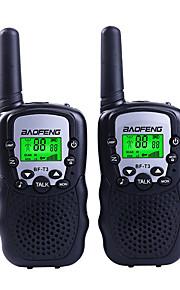 Baofeng T3 Mini Walkie Talkie Kids Radio 0.5W 8/22CH LCD Display Amateur Two-way Radio