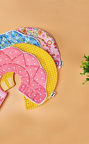 Кошка Ошейники Регулируется Горошек Плюшевая ткань Желтый Пурпурный Синий Розовый