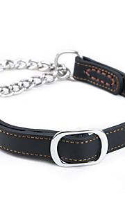 Köpek Yakalar Taşınabilir Solid Siyah Kahverengi