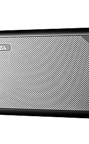 waza 10000mah usb-powerbank, kleinste en lichtste 10000mA externe batterij, ultracompact, snel opladen voor iphone, samsung galaxy en meer