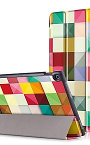 funda de la funda de impresión para asus zenpad 10 z301mfl z301ml z301 tableta de 10.1 pulgadas con película de la pantalla