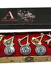 Distintivo Altri accessori Ispirato da Assassino Edward Elric Anime Accessori Cosplay Collane Spille