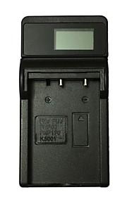 ismartdigi fnp60 lcd usb kamera batteriladdare för fujifilm fnp60 fnp120 k5001 db-l50 cnp30 d-li12 d-l17 50i 601 f601 dv1100 m603