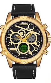 Homens Crianças Relógio de Pulso Relógio de Moda Relógio Elegante Japanês Quartzo Calendário Cronógrafo Impermeável Relógio Casual Couro