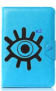 caja universal de la cubierta del soporte del cuero de la PU de la historieta para 7 pulgadas 8 pulgadas 9 pulgadas tableta de la pulgada