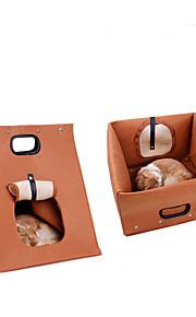 Kot Legowiska Zwierzęta domowe Wkładki Jendolity kolor Gray Brown Dla zwierząt domowych