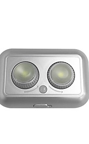 1pc 1W 1 נוריות קל להרכבה חיישן תנועה תאורת תושבת לד לבן חם לבן קר