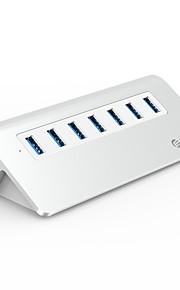 ORICO 7 Hub USB USB 3.0 USB 3.0 Alta Velocidad Protección de Entrada Protección contra Sobrecarga Hub de datos