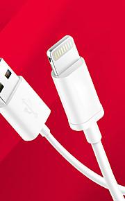 Verlichting USB kabeladapter Oplaadkabel Oplaadkoord Data & Synchronisatie Koord Normaal Kabels Kabel Voor iPad Apple iPad Apple iPhone