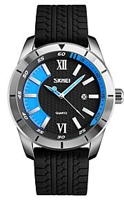 Homens Crianças Relógio Esportivo Relógio de Moda Relógio Casual Japanês Quartzo Calendário Impermeável Mostrador Grande Silicone Banda