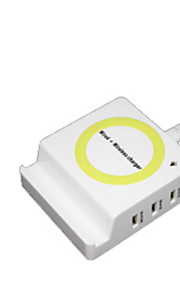 Trådlös laddare Telefon USB-laddare USB Trådlös laddare Qi 1 USB-port 1A AC 220V iPhone X iPhone 8 Plus iPhone 8 S8 Plus S8 S7 Active S7