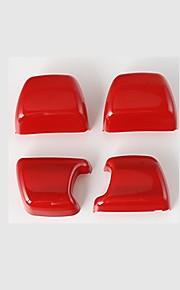 Automotive Safety Belt Cover DIY Car Interiors For Jeep 2011 2012 2013 2014 2015 2016 2017 Wrangler Plastic