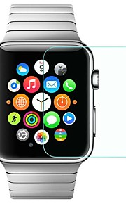 Screen Protector For iWatch 42mm iWatch 38mm Tempered Glass High Definition (HD) 9H Hardness Explosion Proof 1 pc