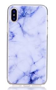 hoesje Voor Apple iPhone X iPhone 8 Schokbestendig Ultradun Achterkant Marmer Zacht TPU voor iPhone 8 Plus iPhone 8 iPhone SE/5s