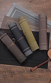 British PVC Rectangle Placemat Table Decorations