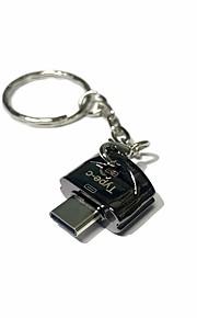 Apacer MicroSD / MicroSDHC / MicroSDXC / TF USB 2.0 Typ-c Kartenleser USB-Stick