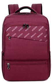 "Nylon Solid Backpacks 17"" Laptop"