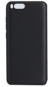 케이스 커버 Xiaomi 용 Mi 6 뒷면 커버 반투명 한 색상 소프트 TPU Xiaomi Mi 6 용