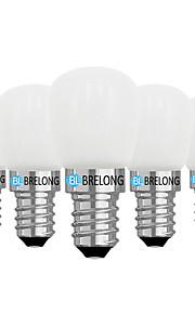 5pcs 2W 120 LED 글로브 전구 1 LED COB 밝기조절가능 따뜻한 화이트 화이트 3000-3500  6000-6500
