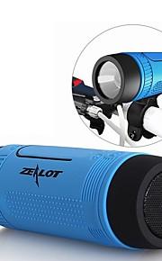 S1 Utomhus Bluetooth högtalare Ministil Bluetooth Ljus Bluetooth 4.0 Audio (3.5 mm) 1 x USB TF-Kortplats Bokhyllehögtalare Grön Grå Brun