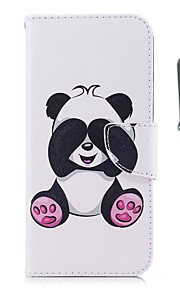 Case For Apple iPhone X iPhone 8 Plus Card Holder Wallet with Stand Flip Magnetic Full Body Cases Panda Hard PU Leather TPU for iPhone 8