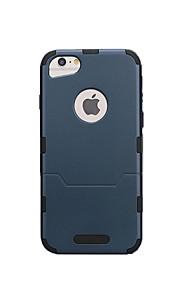 hoesje Voor Apple iPhone 6 iPhone 6 Plus iPhone 7 Schokbestendig Achterkant Effen Kleur Hard Muovi voor iPhone 7 iPhone 6 Plus iPhone 6