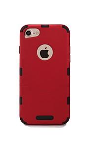 hoesje Voor Apple iPhone 5 hoesje iPhone 7 Schokbestendig Achterkant Effen Kleur Hard Muovi voor iPhone 7 iPhone 5